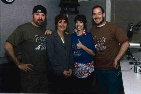 CFOX Crew Pose with Carol James