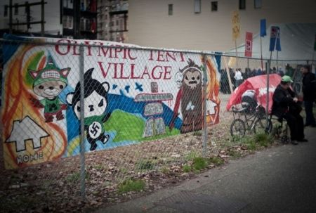 Olympic Tent Village Ends, Homelessness Continues