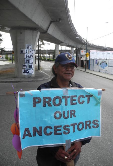 UPDATE: Province weighs in on Musqueam graves