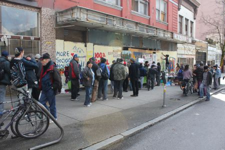 The DTES loves pancakes! [Photo: Tami Starlight]