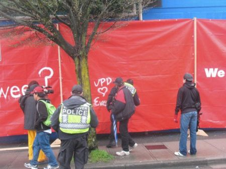 Free Speech Zone: A Guerrilla Public Art Project In The Face Of Olympic State Security