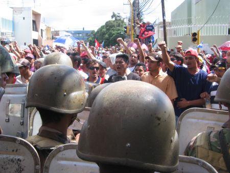 Coup Resistance Steadfast in Honduras