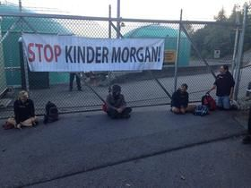 Activists in Vancouver Have Been Throwing Down to Protect Burnaby Mountain from Tar Sands!