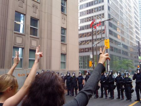 King St. protesters