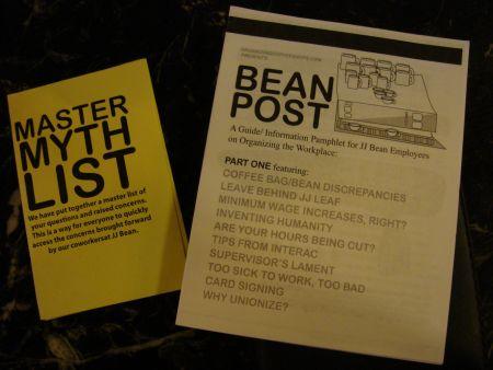 Bean Post and Myth List // dawn paley