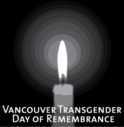 2010 Vancouver Transgender Day of Remembrance