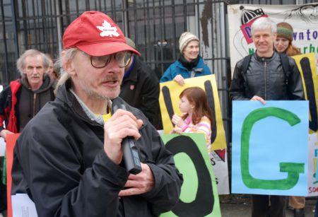 Instrumental advocate and DNC board member Fraser Stuart
