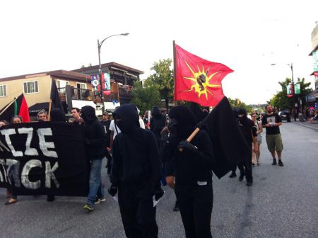 Confronting Canada Day Rally and March in Vancouver
