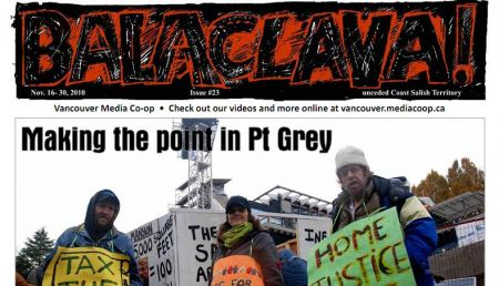 Balaclava! VMC Broadsheet issue 23