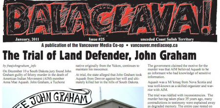 Balaclava! VMC Broadsheet issue 25