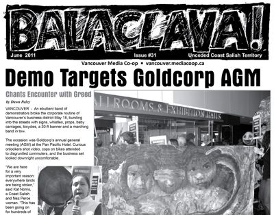 Balaclava! VMC Broadsheet, issue 31