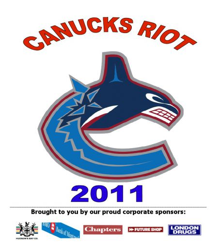 Canucks Riot 2011 graphic