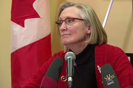 Minister of Indigenous and Northern Affairs Carolyn Bennett.