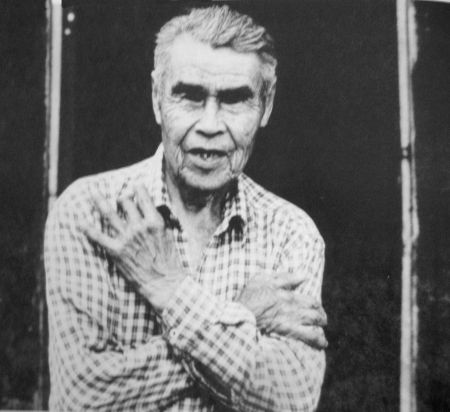 Delgamuukw as he was in 1987, Albert Tait.