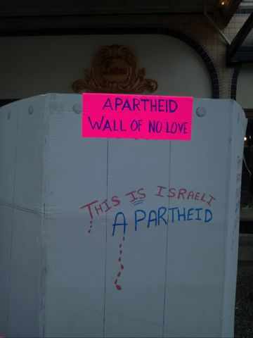 No Love on Valentine's: Palestine Activists protest Lavan's Tainted Love