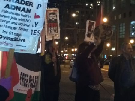 Khader Adnan: 61 Days into Hunger Strike, Vigil calls on CBC to end the silence