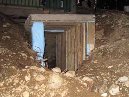 Our New Root Cellar