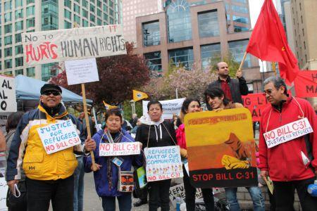 Latino group against bill C-31