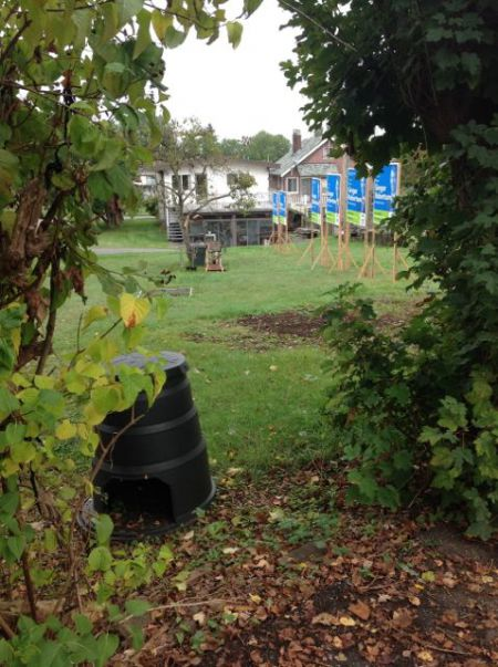 After Complaint – In Back Yard