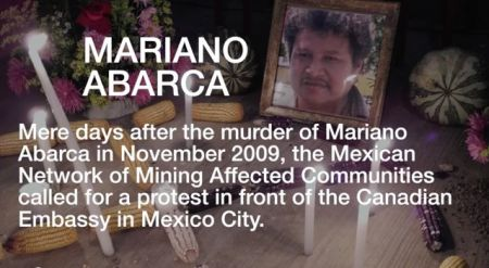 Mariano Abarca of Chiapas, Mexico. Image from Mining Watch Canada.
