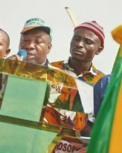 MOSOP President Legborsi Saro Pyagbara.