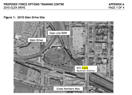 Planned space of the Force Options Training Center in 2007// CoV