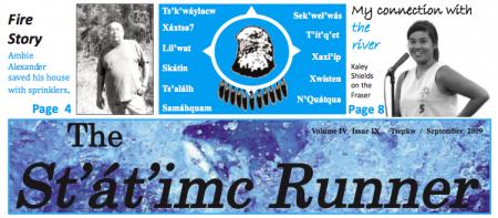 September issue of the St'át'imc Runner