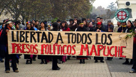Freedom for all Mapuche political prisoners