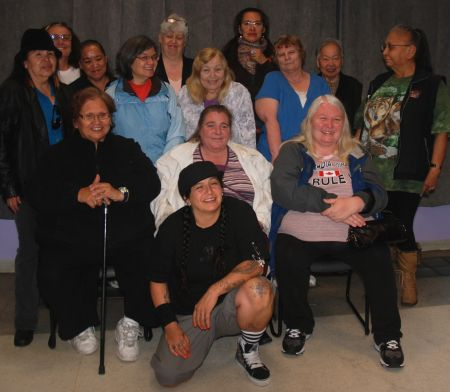 POW members at the Downtown Eastside Women's Centre - Flux Photo