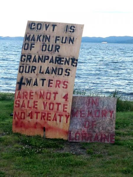 """First ever court victory against a """"modern day treaty"""" in BC"""