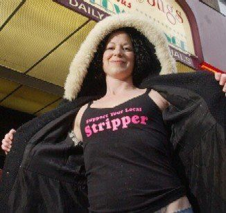 Trina Ricketts has been advocating for sex workers from an experiential point of view for quite some time.  She is founder of Vancouver's Naked Truth Awards as well as Exotic Dancers For Cancer.  She coordinated an online safety guide for all sex workers entitled Trade Secrets.