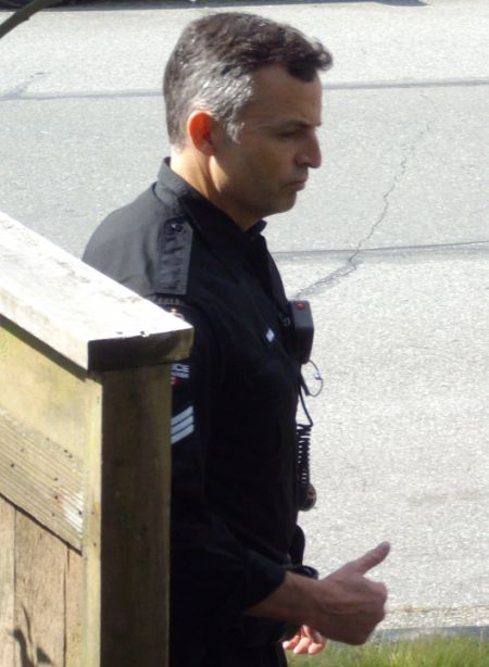 Unidentifed Vancouver police Sergeant.