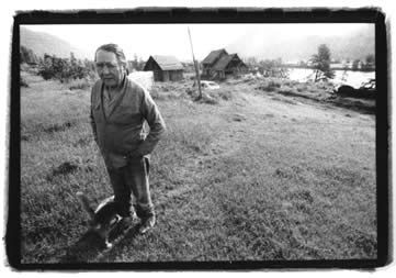 "William Ignace, one of the ""terrorists"" on whom Dosanjh unleashed 400 RCMP with shoot-to-kill orders. Here he is at his farm in Chase. Ignace, known as Wolverine, spent five years in prison for his role at Gustafsen Lake in 1995 – convicted of attempted murder – when what he actually did with his .22 hunting rifle was to disable an Armoured Personnel Carrier by shooting out the power steering column when it was exposed, under the tank, by a pine tree that partially lifted the tank off the ground"