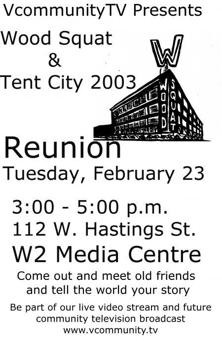 Wood Squat & Tent City 2003 Reunion