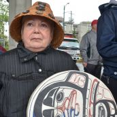 Musqueam set up camp at condo site after infant graves desecrated