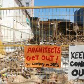 The message behind the Pantages condo site