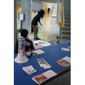 SAGG tabling at SFU Burnaby Campus