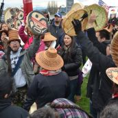 West Coast Idle No More - No Borders Here