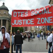DTES: Call for Justice in The Zone