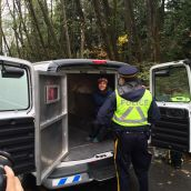 RCMP Sweep Into Park, Arresting Caretakers
