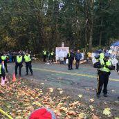 RCMP Sweep Into Park, Arresting Caretakers