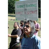 Rally to Stop Kinder Morgan on Burnaby Mountain Sept 13