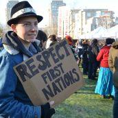 Idle No More on Coast Salish Territory #J11