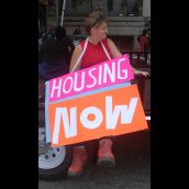 Women's Housing March and GentriFUCKation Tour