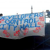 Pantages banner drop