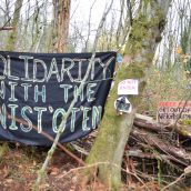 KM PROTEST UPDATE: Camp remains, Burnaby Mountain Caretakers 'arrestable'