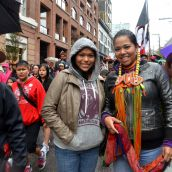 Truth & Reconciliation March Pours Through Downtown Vancouver