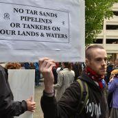 Die-In Greets Pipeline Pushers