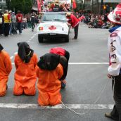 Activists disrupt Canada Day parade in downtown Vancouver