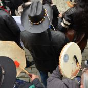 Idle No More takes protest to the CBC